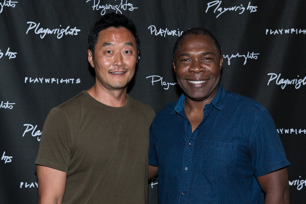 Photo Flash: In Rehearsal with Playwrights Horizons' AUBERGINE