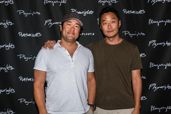 Tim Kang and Stephen Park