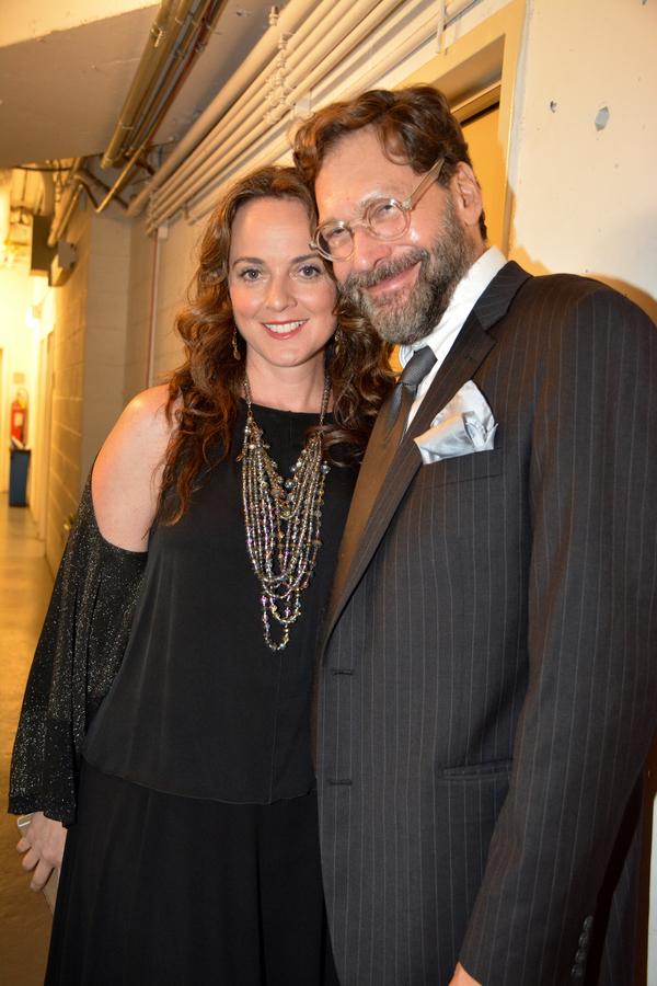 Melissa Errico and David Staller