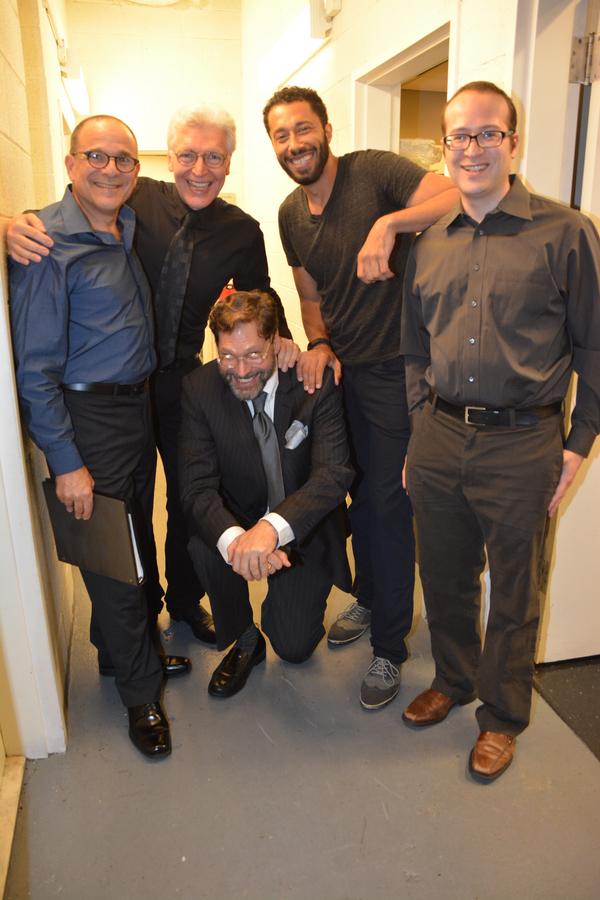 Donald Corren, Tony Sheldon, David Staller, William DeMeritt and Matt Windman Photo