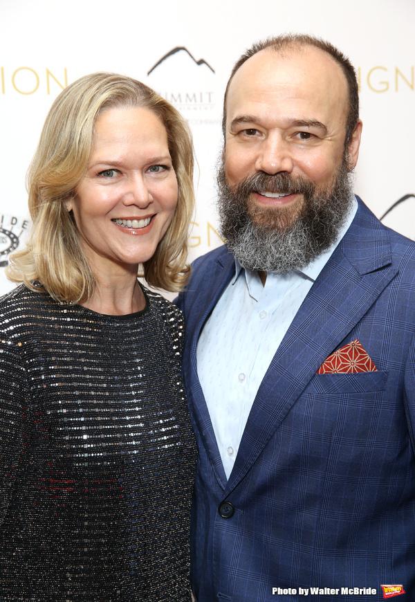 Rebecca Luker and Danny Burstein