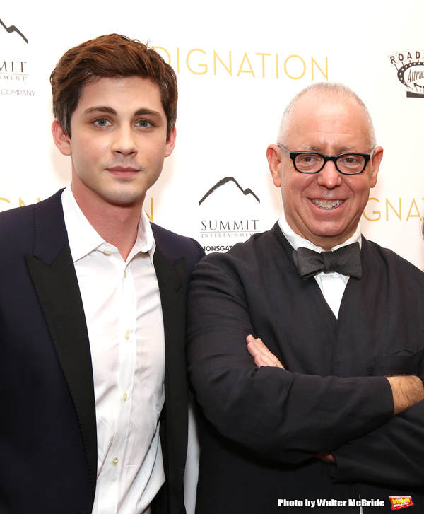 Logan Lerman and director James Schamus