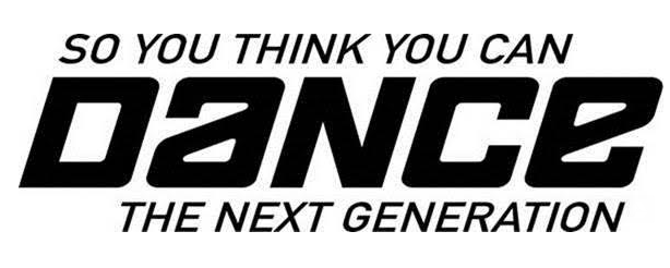 SO YOU THINK YOU CAN DANCE: THE NEXT GENERATION Reveals Eight Finalists