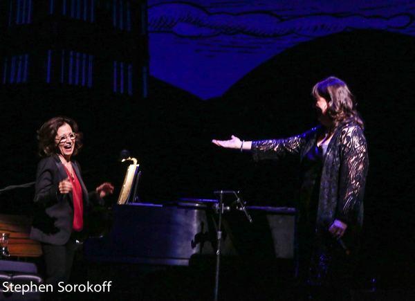 Michele Brourman, music director, & Ann Hampton Callaway