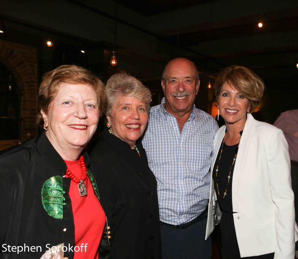 Beth Sapery, Rosita Sarnoff, Sandy Fisher, Isanne Fisher