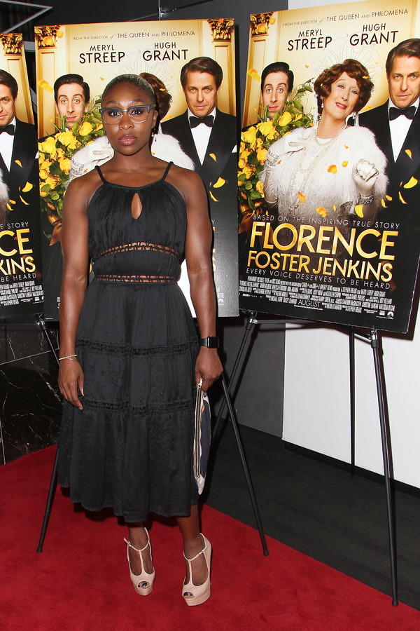"New York, NY -  - 7/25/16 - Special Screening and Reception in Celebration of Paramount Pictures ""Florence Foster Jenkins"" held at Paramount Pictures in New York...-Pictured: Cynthia Erivo.-Photo by: Kristina Bumphrey/StarPix"