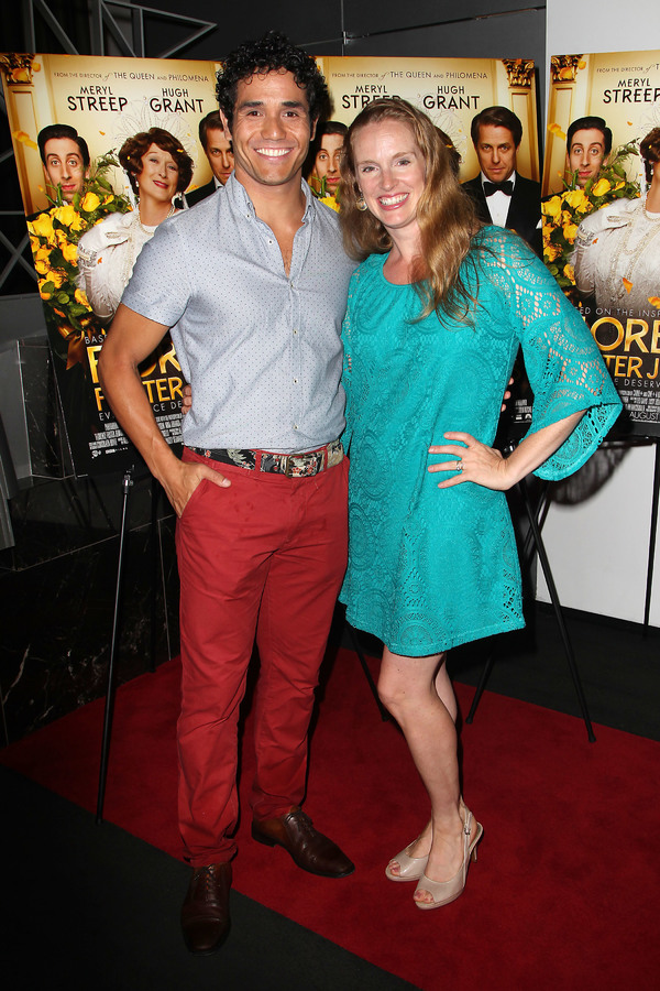 "New York, NY -  - 7/25/16 - Special Screening and Reception in Celebration of Paramount Pictures ""Florence Foster Jenkins"" held at Paramount Pictures in New York...-Pictured: Adam Jacobs and Kelly Jacobs.-Photo by: Kristina Bumphrey/StarPix"