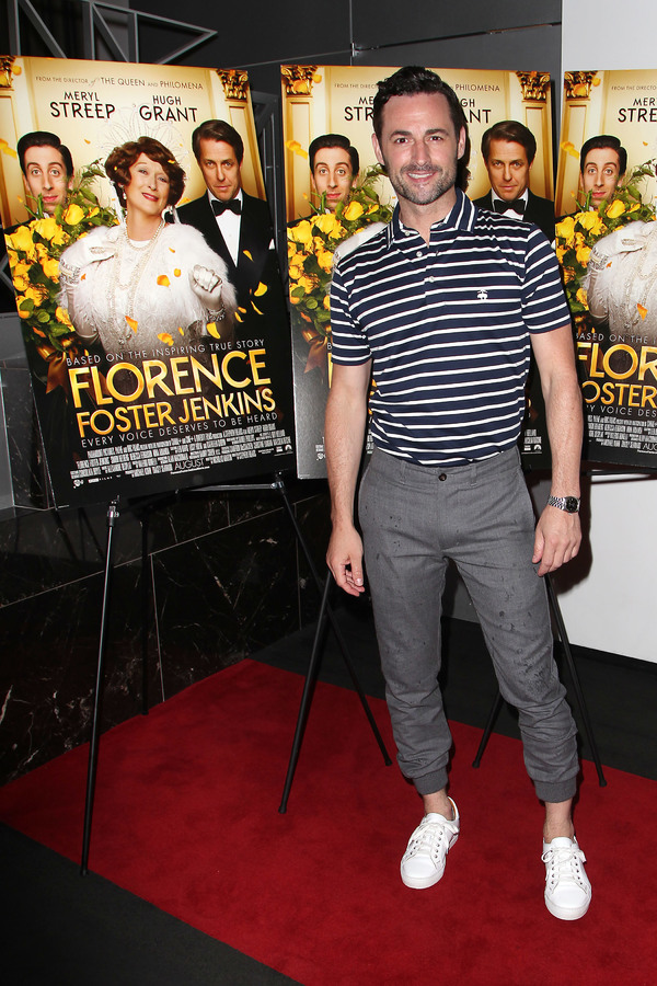 """New York, NY -  - 7/25/16 - Special Screening and Reception in Celebration of Paramount Pictures """"Florence Foster Jenkins"""" held at Paramount Pictures in New York...-Pictured: Max von Essen.-Photo by: Kristina Bumphrey/StarPix"""
