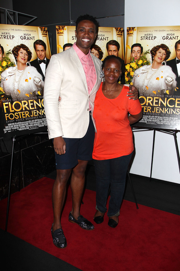"New York, NY -  - 7/25/16 - Special Screening and Reception in Celebration of Paramount Pictures ""Florence Foster Jenkins"" held at Paramount Pictures in New York...-Pictured: L. Steven Taylor and Tshidi Manye.-Photo by: Kristina Bumphrey/StarPix"