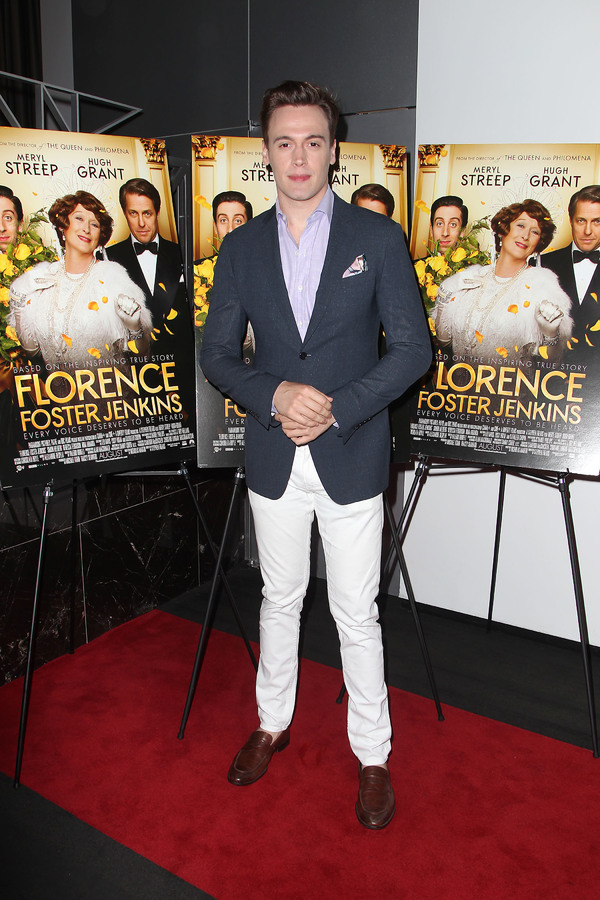 "New York, NY -  - 7/25/16 - Special Screening and Reception in Celebration of Paramount Pictures ""Florence Foster Jenkins"" held at Paramount Pictures in New York...-Pictured: Erich Bergen.-Photo by: Kristina Bumphrey/StarPix"