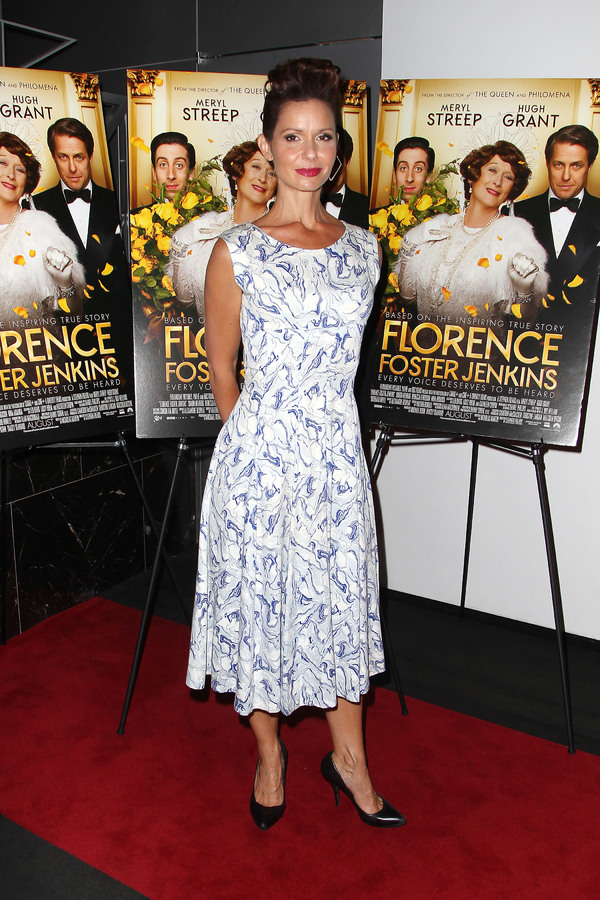 "New York, NY -  - 7/25/16 - Special Screening and Reception in Celebration of Paramount Pictures ""Florence Foster Jenkins"" held at Paramount Pictures in New York...-Pictured: Florencia Lozano.-Photo by: Kristina Bumphrey/StarPix"