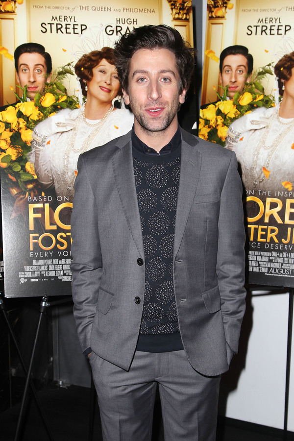 """New York, NY -  - 7/25/16 - Special Screening and Reception in Celebration of Paramount Pictures """"Florence Foster Jenkins"""" held at Paramount Pictures in New York...-Pictured: Simon Helberg.-Photo by: Kristina Bumphrey/StarPix"""