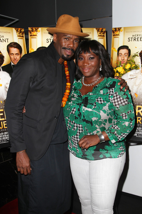 "New York, NY -  - 7/25/16 - Special Screening and Reception in Celebration of Paramount Pictures ""Florence Foster Jenkins"" held at Paramount Pictures in New York...-Pictured: Colman Domingo and Bevy Smith.-Photo by: Kristina Bumphrey/StarPix"
