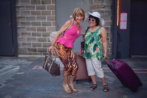 Jenny Powers and Ann Harada