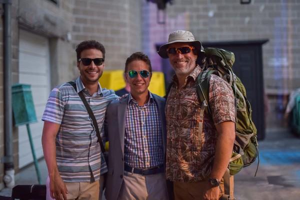 Justin Guarini, Ben Nordstrom and Mike McGowan
