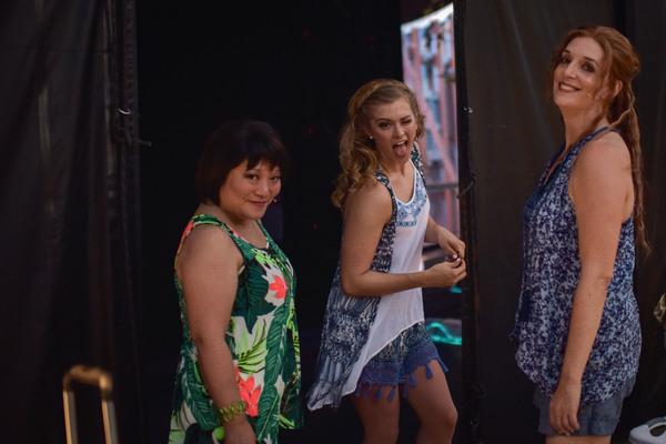 Ann Harada, Brittany Zeinstra and Julia Murney