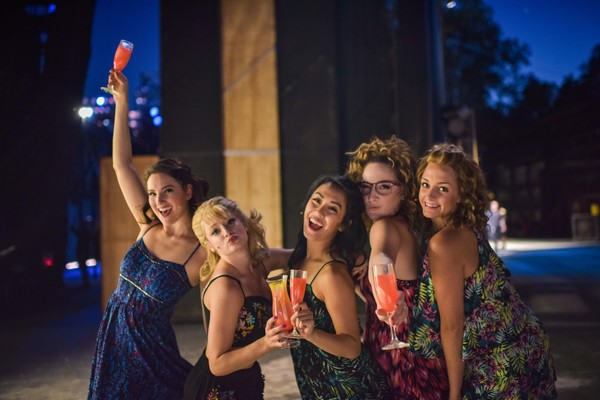 Jessie Peltier, Halli Toland, Yvette Lu, Sara Gallo and Kate Arrington Johnson Photo