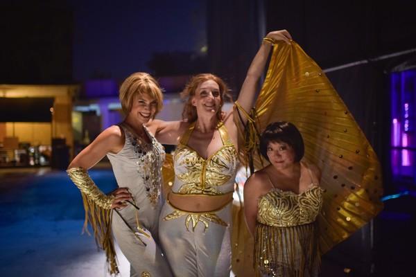 Jenny Powers, Julia Murney and Ann Harada