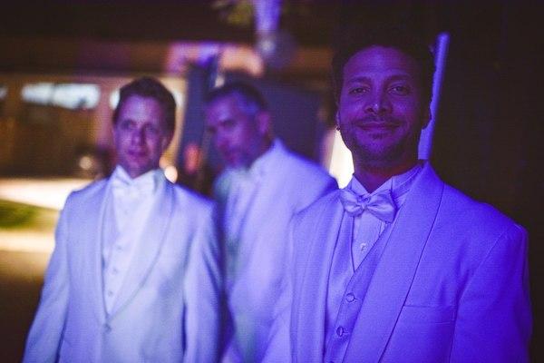 Ben Nordstrom, Mike McGowan and Justin Guarini