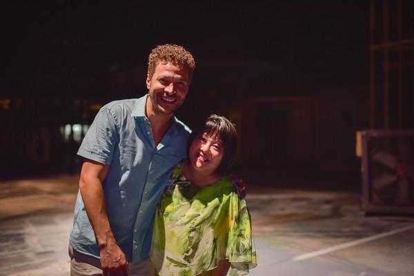Justin Guarini and Ann Harada