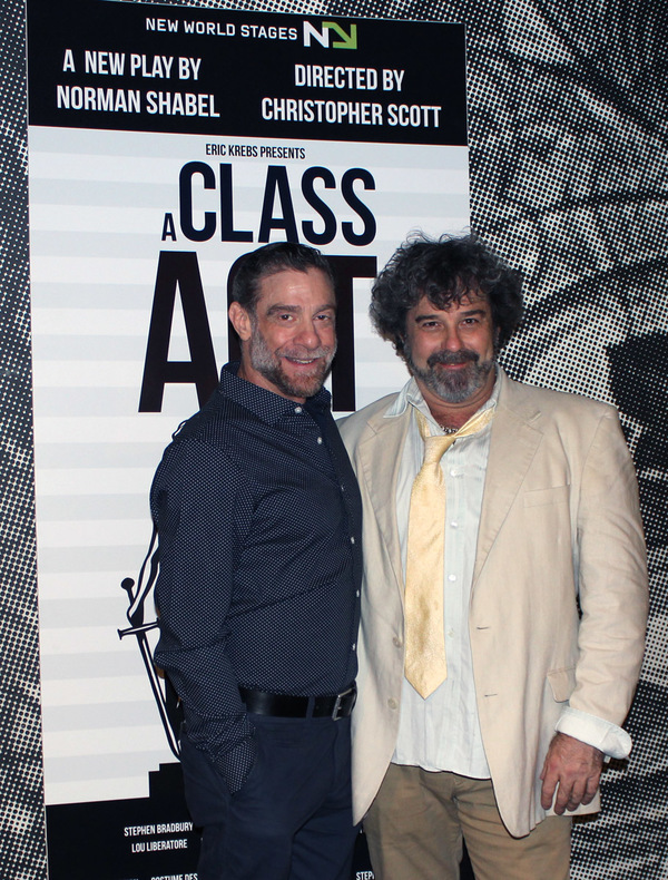 Photo Flash: A CLASS ACT Celebrates Opening Night at New World Stages