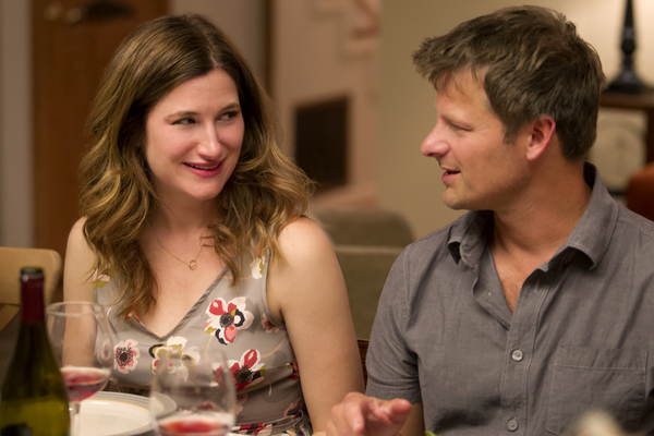 Left to right, Kathryn Hahn stars as Harper and Steve Zahn as Dave in CAPTAIN FANTAST Photo