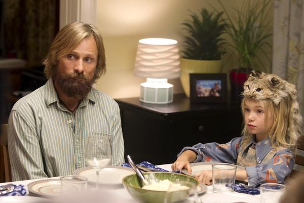 Left to right,  Viggo Mortensen stars as Ben and Shree Crooks as Zaja in CAPTAIN FANTASTIC, a Bleecker Street release.Credit: Erik Simkins / Bleecker Street