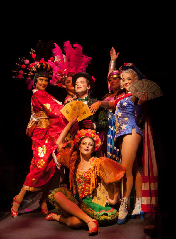 Photo Flash: First Look at Robin De Jesus, Kaleigh Cronin, Hunter Ryan Herdlicka and More in CABARET at Music Circus