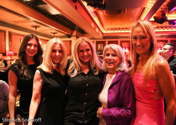 Megan Michele, Sharon Barnett, Karen King, Jamie deRoy, Countessa Francesca Braschi