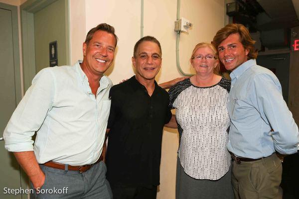 Steven Reineke, music director The New York Pops, Tony Danza, Mrs. Gabbard, Eric Gabbard