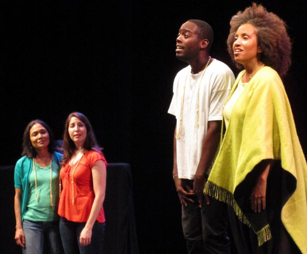 Lydia Gaston, Hana Slevin, Donell James Foreman and Marcie Henderson