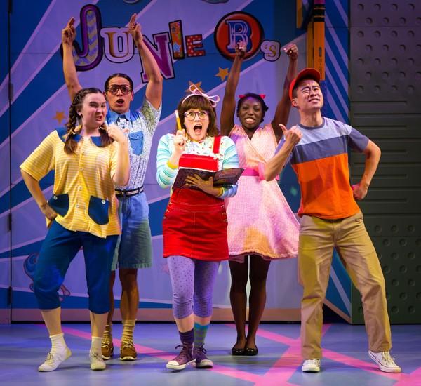Sara Glancy, Junior Mendez, Kristin Stokes (as Junie B.), Brandi Porter, and Whit K. Lee