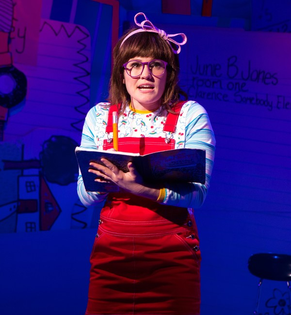 Photo Flash: First Look at JUNIE B.'S ESSENTIAL SURVIVAL GUIDE TO SCHOOL, Opening Tonight Off-Broadway