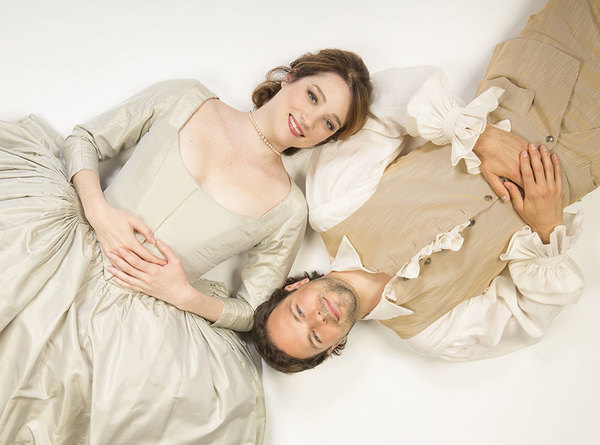 Kristen Connolly appears as the Princess of France and Jonny Orsini as Ferdinand, King of Navarre