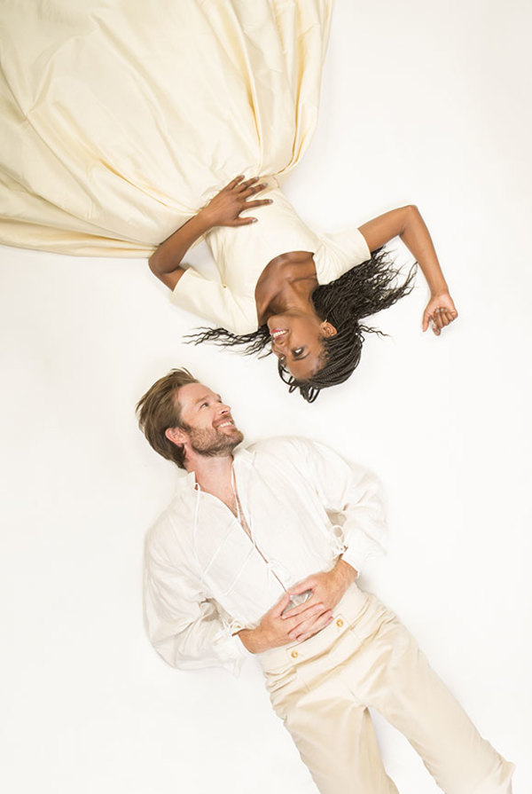 Kieran Campion appears as Berowne and Pascale Armand as Rosaline