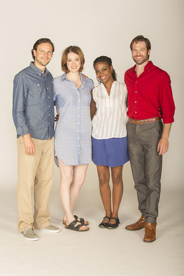 Jonny Orsini appears as Ferdinand, King of Navarre, Kristen Connolly as the Princess of France, Pascale Armand as Rosaline, and Kieran Campion as Berowne