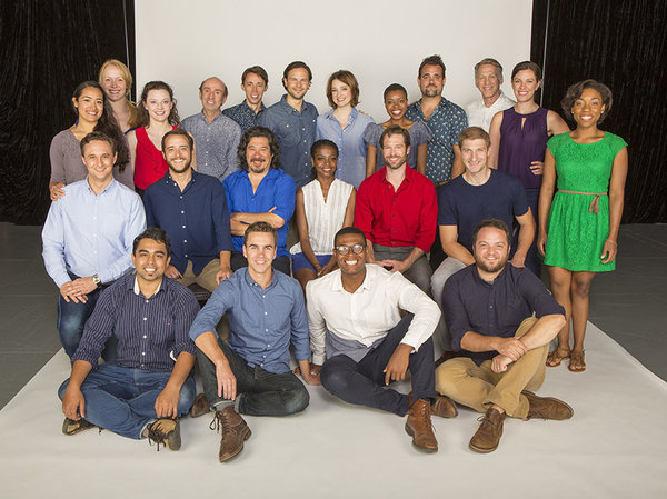 The cast of William Shakespeare's LOVE'S LABOR'S LOST at The Old Globe
