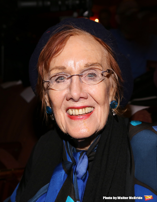 Marni Nixon attends 'A Tribute to Polly Bergen' at the American Airlines Theatre on M Photo