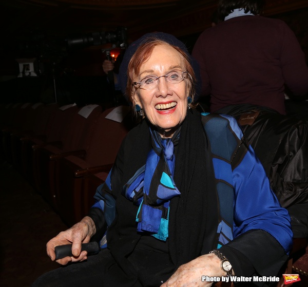 Marni Nixon attends 'A Tribute to Polly Bergen' at the American Airlines Theatre on March 26, 2015 in New York City.