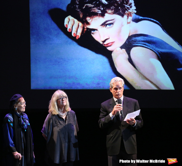 'Follies' reunion featuring Marni Nixon, Judith Ivey, Gregory Harrison on stage at 'A Photo
