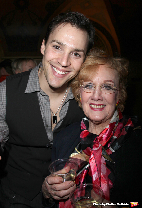 Ryan Silverman & Marni Nixon attending the final performance after party reception for the NY City Center ENCORES!  production of MUSIC IN THE AIR  in New York City.February 8, 2009