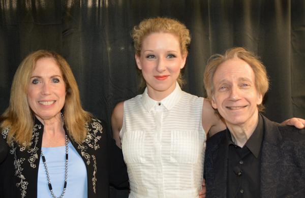 Alix Korey, Molly Pope and Scott Siegel