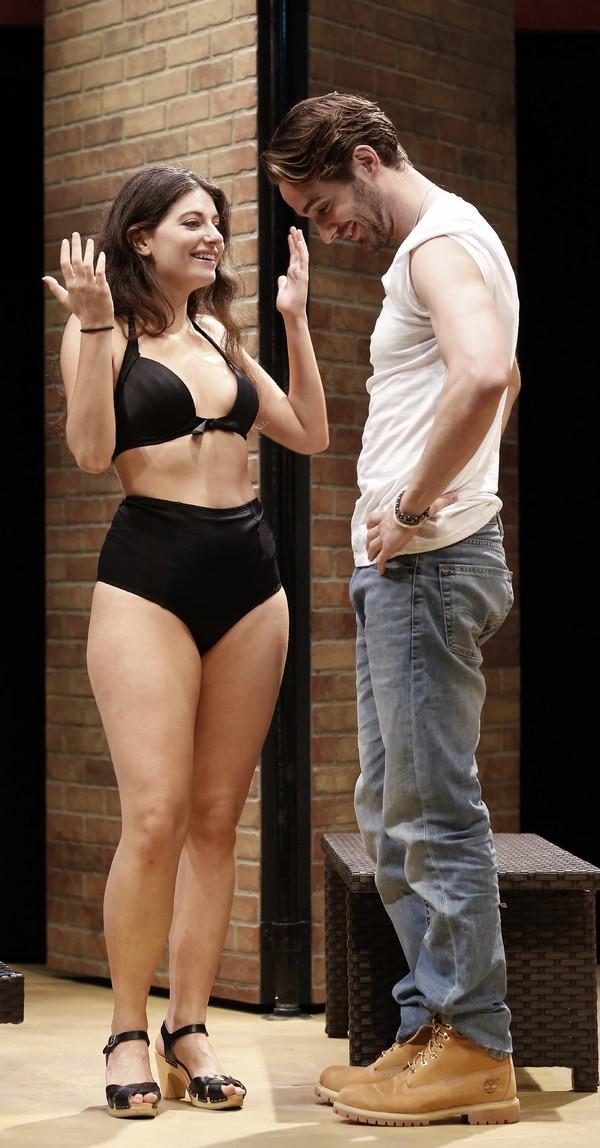 Michaela Waites and AJ Cedeno Photo