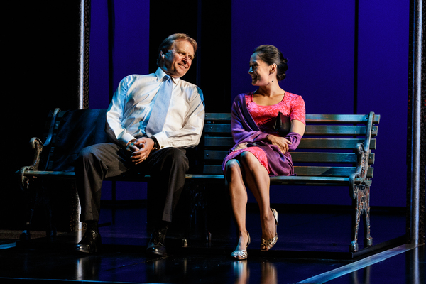 David Rasche and Jennifer Ikeda
