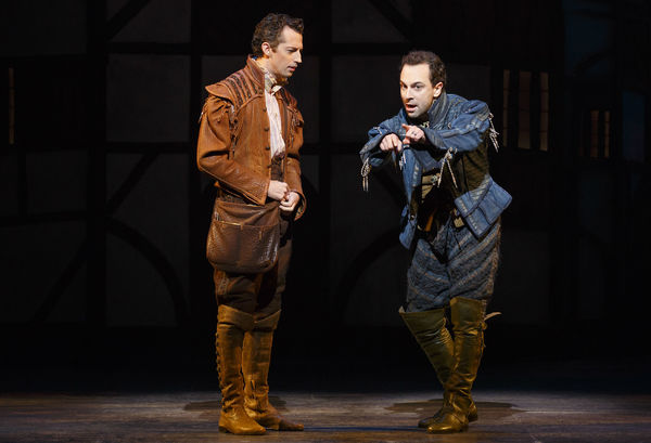 Photo Flash: Will Power! First Look at Will Chase, Rob McClure and More in Broadway's SOMETHING ROTTEN!