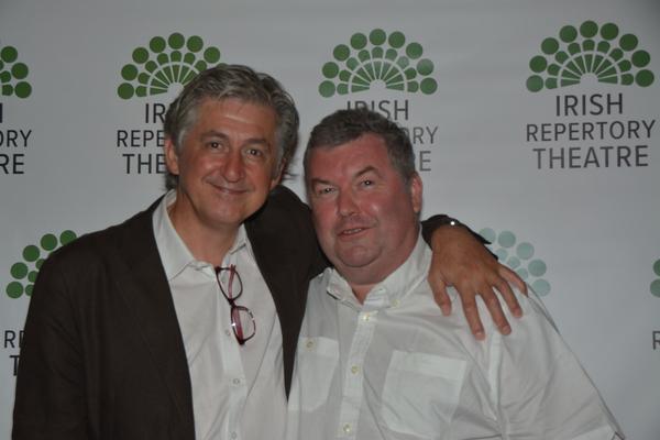 Fiach Mac Conghail (/CEO Abbey Theatre, Ireland) and Owen McCafferty (Playwright) Photo