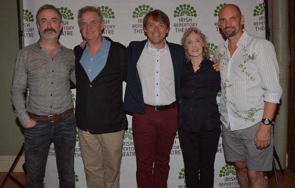 Declan Conlon, Ciaran O'Reilly, Robert Zawadzki, Charlotte Moore and Patrick O'Kane