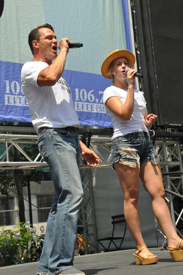 Matt Bogart and Whitney Bashor