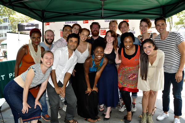 Photo Coverage: Casts of GREAT COMET, WAITRESS & More Arrive at Broadway In Bryant Park!