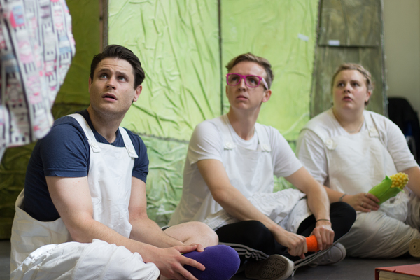 Photo Flash: 3 LITTLE PIGS TOUR in Rehearsal